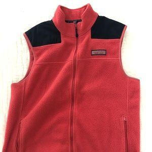Men's vineyard vines fleece vest